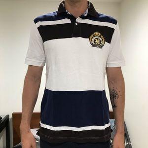Tommy Hilfiger vintage stripe polo shirt